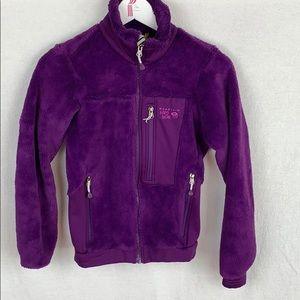 Mountain Hardware Purple Polartec Fleece Jacket
